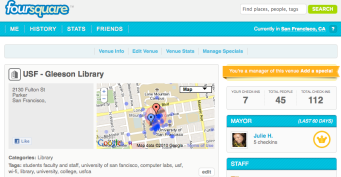 The Gleeson Library Location on Foursquare